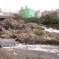 Droga na Ring of Kerry,miasteczko #RingOfKerry #PierścieńKerry #rzeka #miasteczko