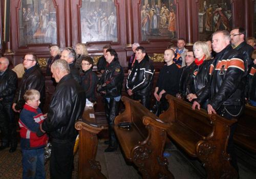 Bochnia - Msza Św. na rozpoczęcie sezonu motocyklowego #Harley #Davidson #GrupaGalicja #Bochnia