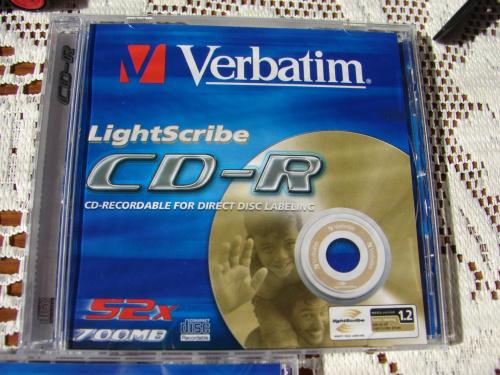 Verbatim - LightScribe