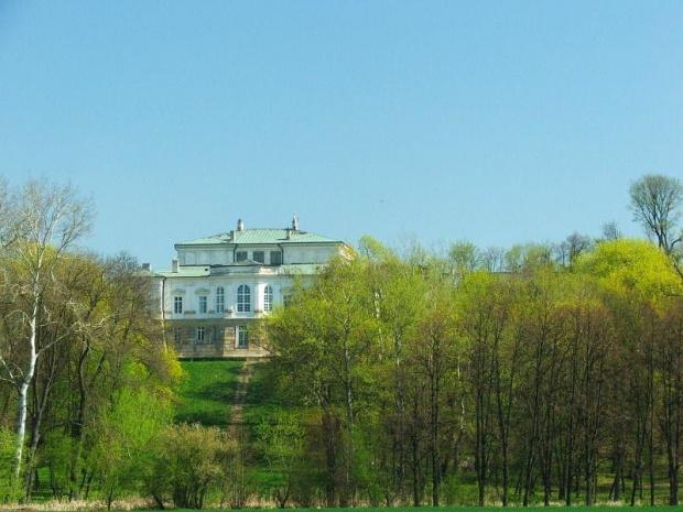 Jadąc na działkę mijam park #park #Czartoryscy #Puławy