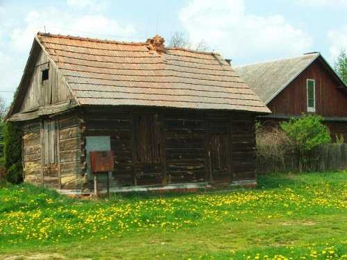 Chata w Woli Osińskiej #WolaOsińska #chata #dom