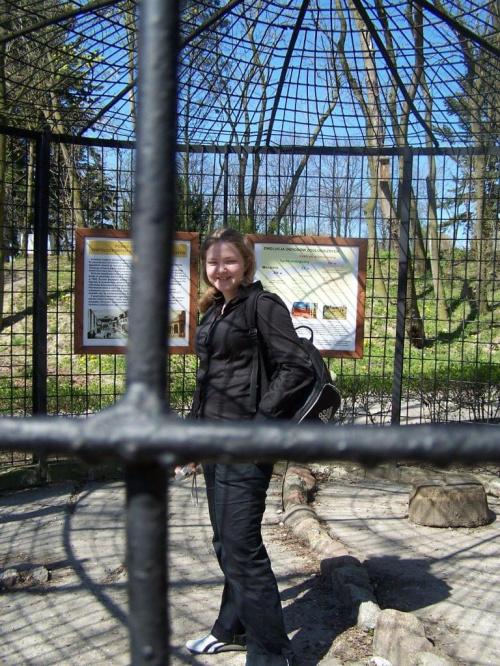 Martuś za kratkami :D #zoo #Marta