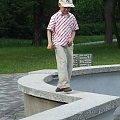 20 V 2007- Dawidek na fontannie #Muszla #TomaszówMaz