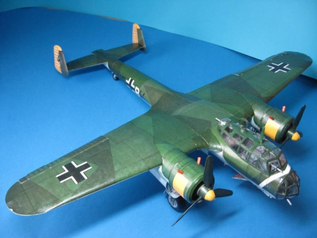 card modeling faq dornier do 17 big paper card model 54cm