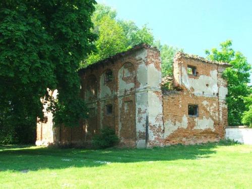 Ruiny lamusa w Bronicach #Bronice #zabytek #zabytki