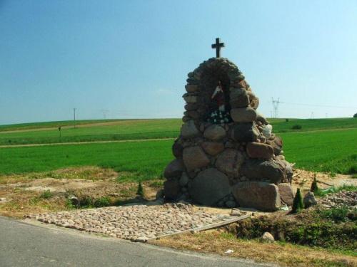 Kapliczka w Płonkach #Płonki #kapliczka