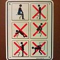 śmieszne zabawne dowcipne #śmieszne #dowcipne #zabawne #zakaz #toaleta #łazienka #kibel