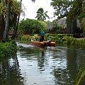 Centrum Kultury Polinezyjskiej - można było popłynąć kanu #kultura #egzotyka #taniec #rośliny