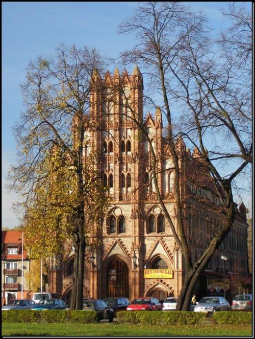 Chojna - restauracja Rycerska #miejsca #MiastaPolskie #wycieczki #budowle