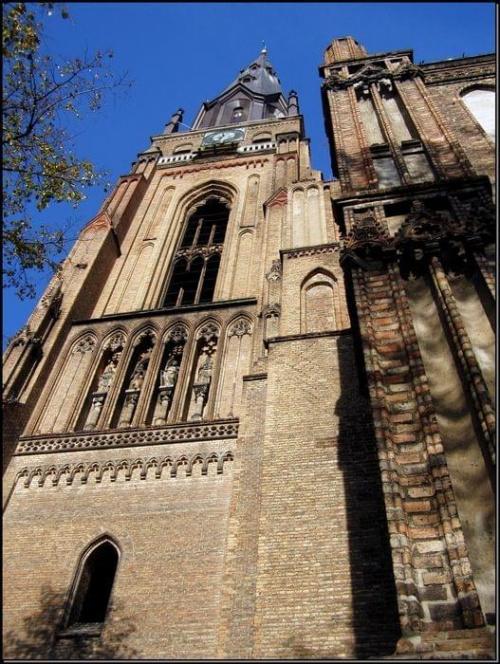 Chojna - Kościół NMP #miejsca #MiastaPolskie #wycieczki #budowle