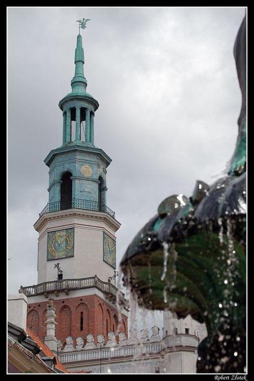 Wieża Ratuszowa. #Poznań #Warta #koziołki